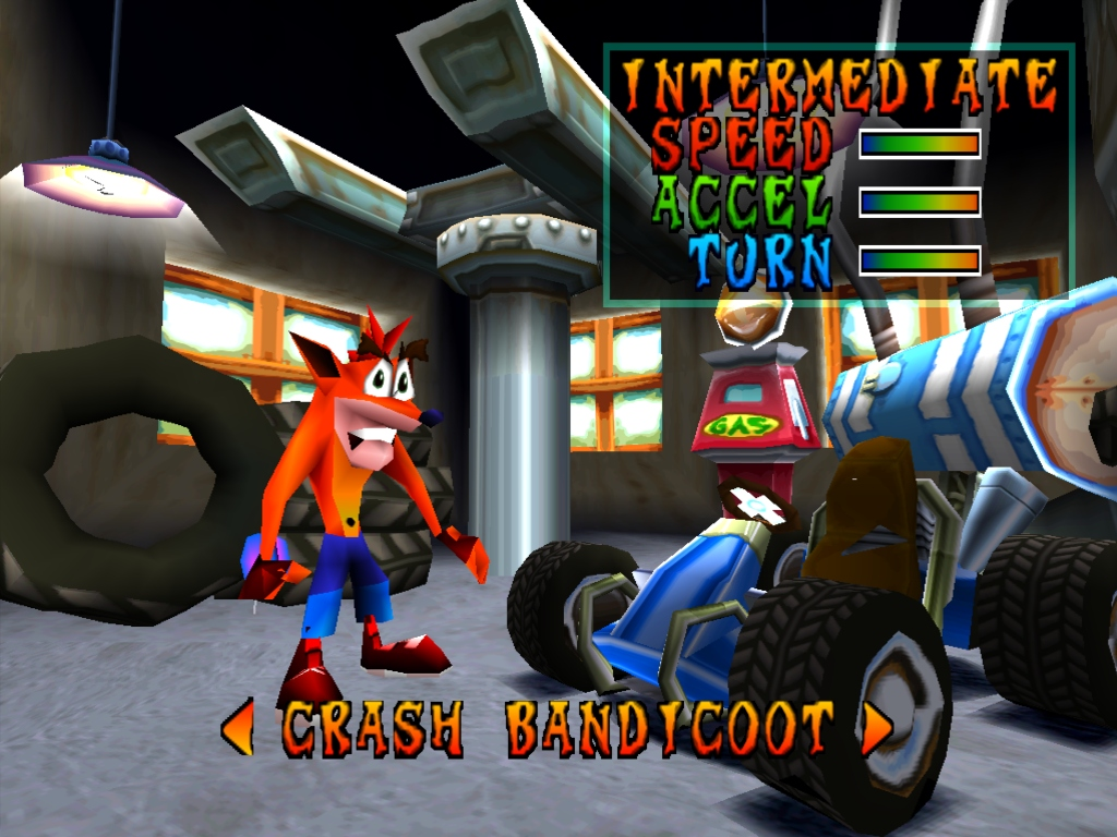 Screenshot thumbnail media file 9 for crash team racing u